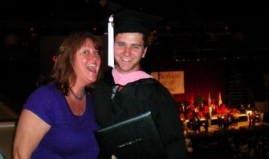 Michael Wright graduation
