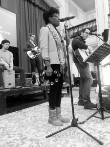 Leah at Church